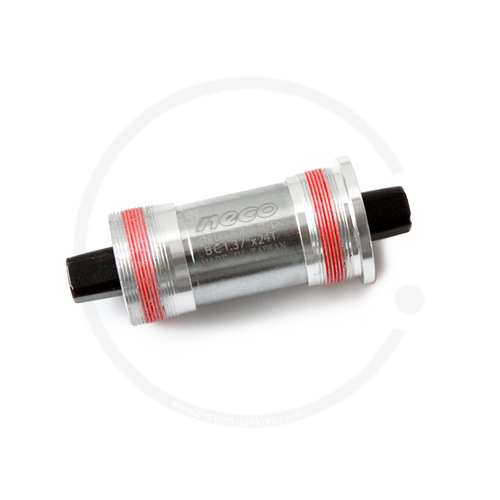 NECO AL-920 Bottom Bracket | Square Taper JIS | Italian Thread - 113mm