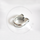 Sattelklemme Alu mit Innensechskantschraube - silber, 28.6