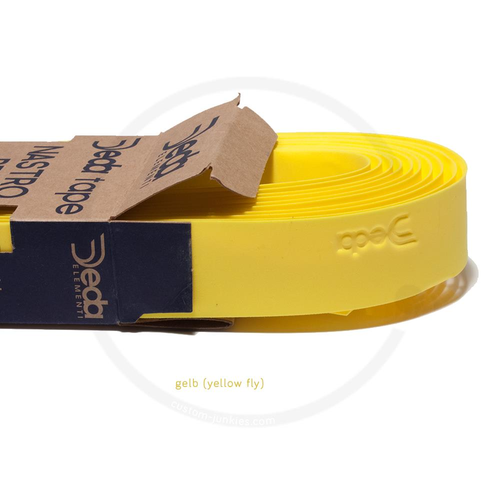 Deda Tape | Synthetic Handlebar Tape - yellow