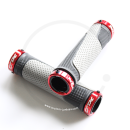 XLC Ringo GR-S05 Lock-On Grips | 130mm - light grey / anthracite