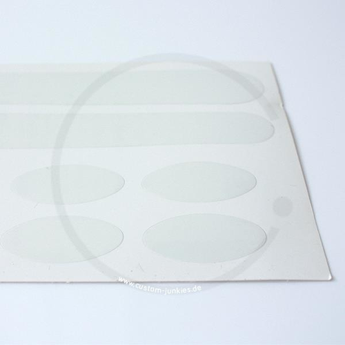 Proline Scratch Guard Frame Protection | 14 Stickers transparent