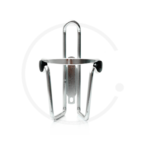 Aluminium Bicycle Water Bottle Cage - silver