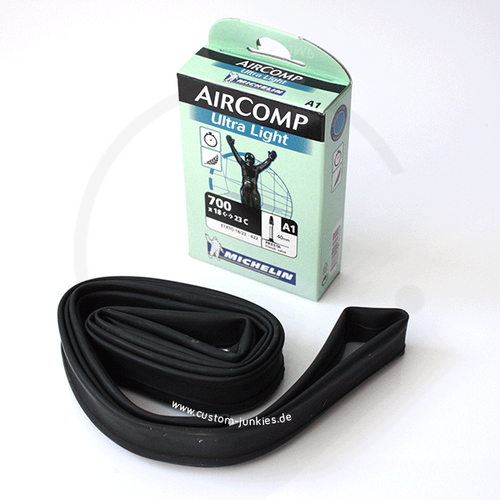 Michelin A1 Aircomp Ultra Light | Inner Tube | 700c x 18-23mm / 40mm valve