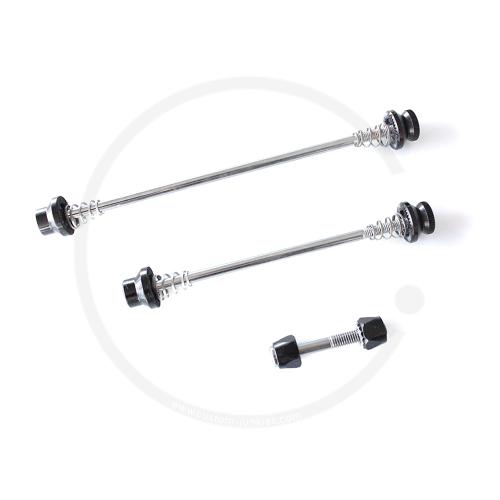 MTB Bolt-On Skewers   Front & Rear Wheel & Seatpost - black