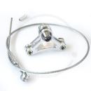 Tektro Brake Cable Triangle | Querzug & Träger - silber