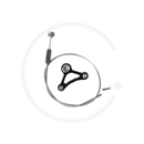 Tektro Brake Cable Triangle | Cantilever Straddle Cable & Yoke - black