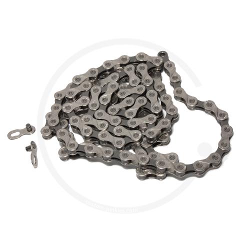 "KMC X9 Grey Kette | 9-fach | 1/2"" x 11/128"" | 114 Gl."