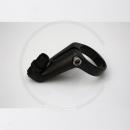 "Tektro Aluminium Front Brake Cable Hanger with Adjuster - black, 1 1/8"" (28.6)"