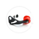 Kettenspanner für Schaltauge | Alu | schwarz/orange