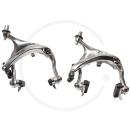 Tektro R-559 Road Caliper Brakes | Extra Long Reach 55-73mm - silver