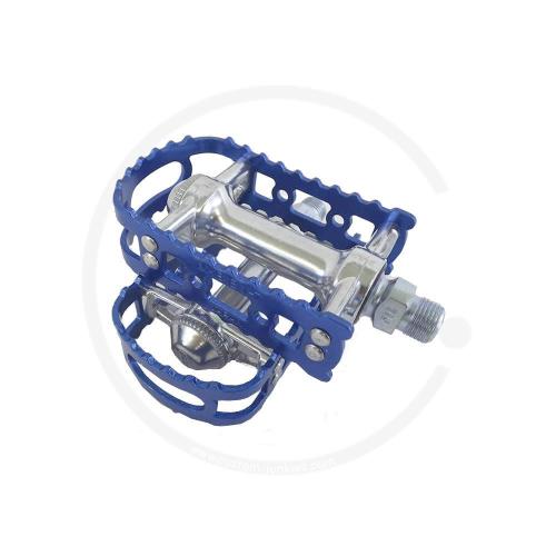 MKS BM-7 Beartrap Pedals - blue