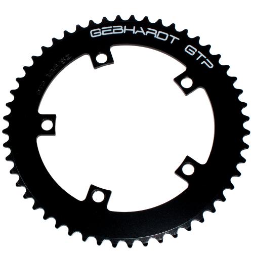 GEBHARDT Track Chainring | Aluminium black | 135mm BCD - 48T