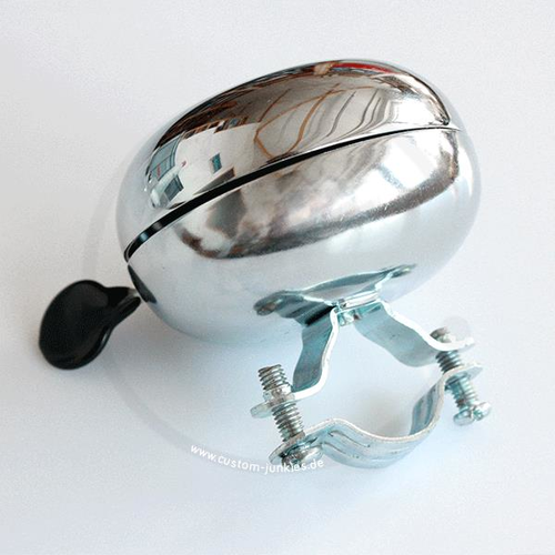 Ding-Dong Bicycle Bell | Chrome-plated | 60mm Diameter