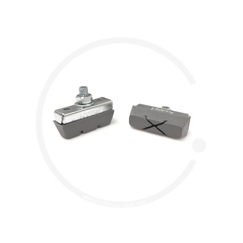 Fibrax Brake Shoes - grey / for alloy rims (1 pair)