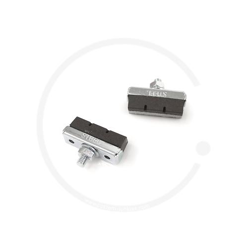 Fibrax Bremsschuhe | 1 Paar - schwarz / für Stahlfelgen