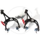 JULY 20F Road Caliper Brakes Aluminium 6066-T6 | Short Reach 39-51mm | black
