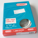 Brake Cable Set Elvedes ATB/RACE - white