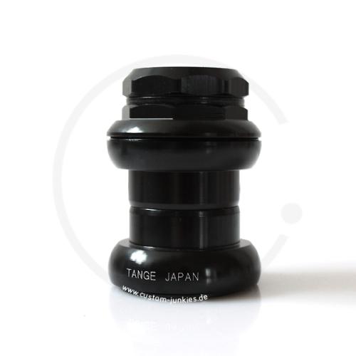 """Tange Seiki Falcon 1"""" Threaded Headset - black"""