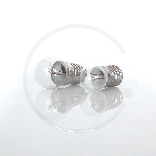 Bulb 6V 0.6W with screw bases - for rear light