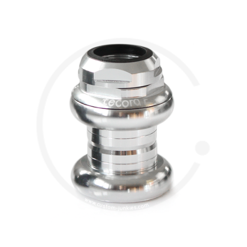 "Tecora E EC30 1"" Threaded Headset | Cartridge Bearings - silver"