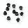 Kettenblattschrauben 2-fach | 8mm | Alu - schwarz