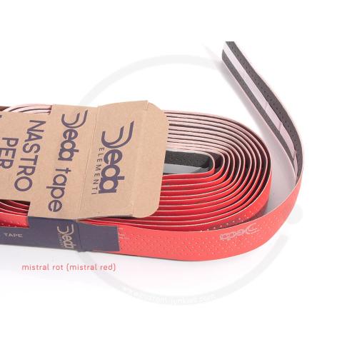 Deda Tape | Synthetic Handlebar Tape - mistral red