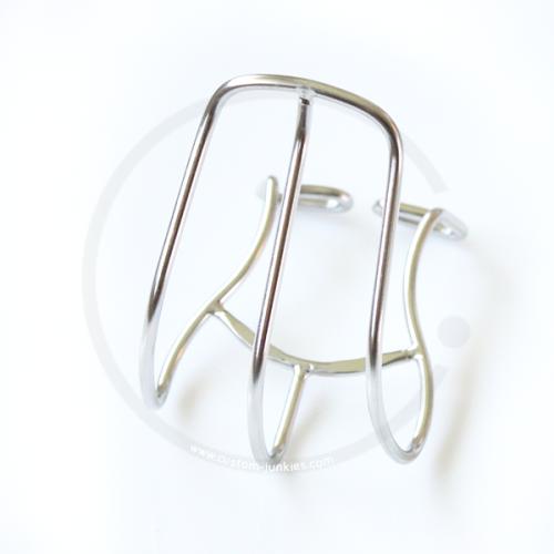 1 Paar Contec V-Stop 3D Bremsschuh V-Brake Triple Compound Silber