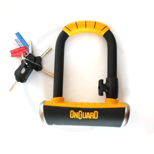 Onguard Pitbull Mini #8006   Bügelschloss 90x140mm Ø 14mm   mit Halter