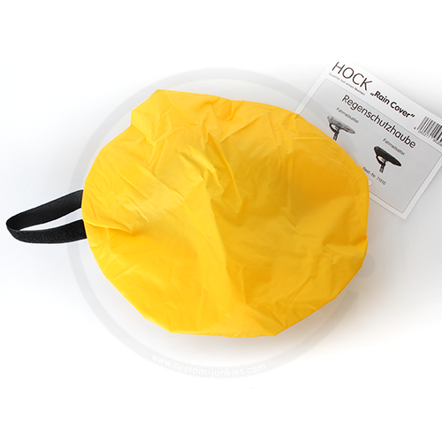 HOCK Rain Cover for Bicycle Saddles - yellow