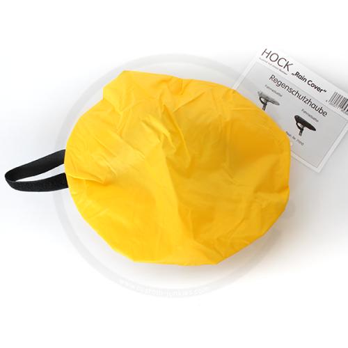 HOCK Regenschutzhaube für Fahrradsättel - gelb