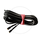 Busch & Müller Dynamo Cable with Flat Plug   two-core   2100mm