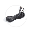 Double Cable with Flat Plug | 2200mm
