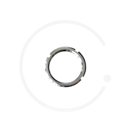 "CrMo Lockring | silber | BSA 1.29"" x 24 tpi"