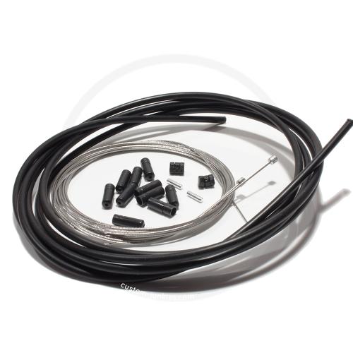 Elvedes Universal Schaltzug-Set | MTB & Rennrad - schwarz