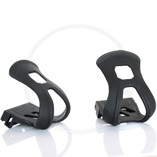 VP Components 700F Half Toe ClipsPlastic black