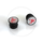 "SRAM Road Bar End Plugs ""Make the Leap Frog"""