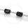 Elvedes O-Ring | Kabelschoner für Brems- und Schaltzüge | schwarz
