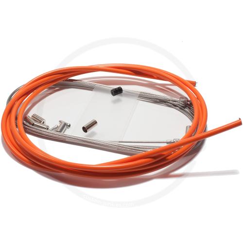 Bremszug Set Elvedes ATB/RACE - orange
