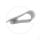 Hosenclip   Stahl verchromt   1 Stück