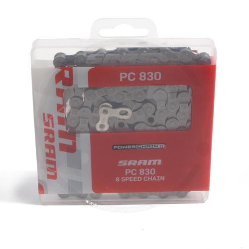 SRAM PC 830 | 6/7/8-fach Kette | silber | 114 Glieder