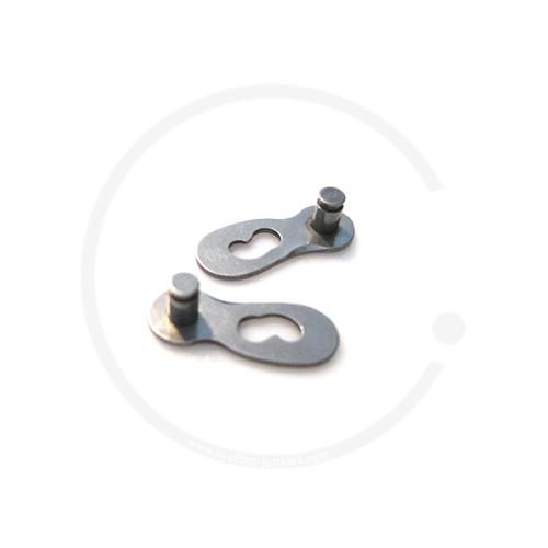 Connex Link Kettenverschluss für 9-fach Ketten - silber