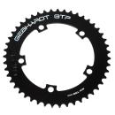 GEBHARDT Track Chainring | Aluminium black | 130mm BCD - 44T