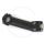 Kalloy UNO Classic 1 1/8 inch Ahead Stem 17° - black matt, 120mm