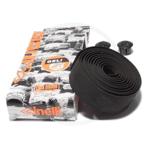Cinelli Cork *Gel* Lenkerband - schwarz