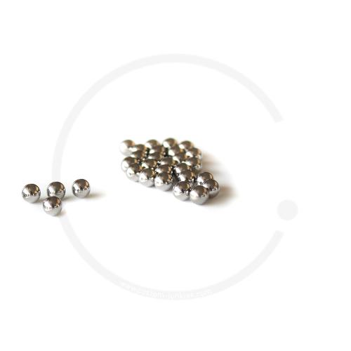 Kugeln aus Chromstahl 1/4 Zoll (6,350mm) z.B. für Innenlager o. HR-Naben