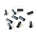Jagwire Rahmen Kabelführung | für 5mm Außenhüllen | Kunststoff schwarz