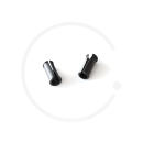 Jagwire Frame Cable Guide | for 5mm Outer Housing | Plastic Black