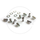 Triple Chainring Bolts Extra Long | Steel Silver | 5 Pcs