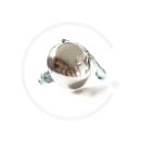 Klassische Rennglocke mit Feder | Edelstahl poliert