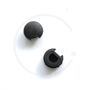 Brake Lever Plugs for Tektro RX 4.1 & 5.0 | 1 Pair | Plastic black